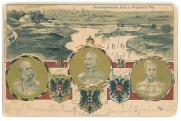 RUS 51 - 12833 MYSLOWITZ, Poland, Russia, Tzar NICOLAUS II, Litho - Old Postcard - Used - 1901 - Russie