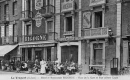 Le Tréport - Hôtel-Reataurant BIGORNE - Place De La Gare- TBE - Ristoranti