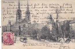 ALLEMAGNE . CPA. MARIENKIRCHE. UND TUBINGERSTRABE. ANNEE 1905 + TEXTE - Konstanz