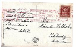 TSC279 / CSSR - Rot-Kreuz-Werbestempel 1921 - Covers & Documents