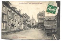 CORMEILLES - Place Du Montmirel Et L'Eglise - France