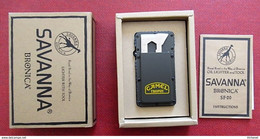Camel Trophy - Lot De 3 Briquets Savanna Bronica - New Lighters With Tool - Rare - Andere