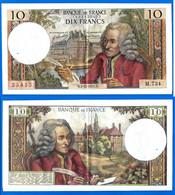 France 10 Francs 1971 Serie M 734 Du 2 12 1971 Que Prix + Port Voltaire Paypal Bitcoin OK - 10 F 1963-1973 ''Voltaire''