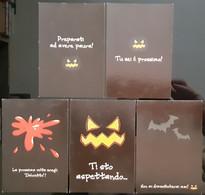 Halloween Lot De 5 Carte Postale - Pubblicitari