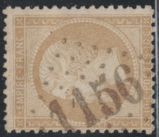 EMPIRE - N°21 - OBLITERATION - GC1156 - COUCOURON - ARDECHE - COTE 40€ . - 1849-1876: Periodo Classico