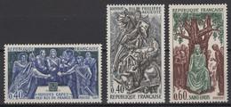 France: 1967. Y&T 2020. N° 1537/39 TP **, MNH, Neuf(s) - Neufs