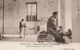 04 MOUSTIERS   Lot De Deux Cartes Faïencerie Marcel Provence - Otros Municipios