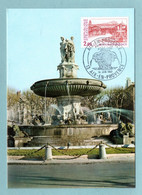 Carte Maximum 1982 - Aix-en-Provence - YT 2194 - 13 Aix En Provence - 1980-89