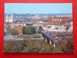 Kaunas - Vytautas-Magnus-Brücke - Memel -  Kirche St. Francis Xavier - Litauen - 1988 CCCP - Litauen
