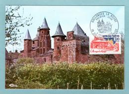 Carte Maximum 1982 - Série Touristique - Collonges La Rouge - YT 2196 - 13 Collonges La Rouge - 1980-89