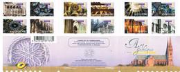 BC 552  N° Y.T. Neuf ** 2011 Art Gothique  Autoadhésifs T.n° 552 à 563 (sauf N° 558A-559A-562A) - Luchtpost