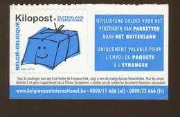 Ki20  KILOPOST.  2Kg   Buitenenland International Avec Vignette Cote 33,-€ - Railway