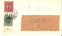 "Tchecoslowakia/Austria 28/XI/1918 ""T"" Brno  D1223 - Covers & Documents"