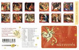 BC 621  N° Y.T. Neuf ** 2011  Meilleurs Voeux , Nativités  Autoadhésifs T.n° 621 à 632 - Luchtpost