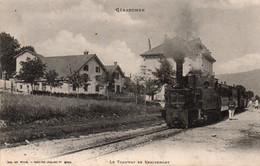 GERARDMER-88-TRAMWAY DE REMIREMONT - Gerardmer