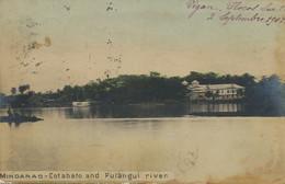 Real Photo  Hand Colored Cotabato And Pulangui River . P. Used Vigan Ste Marie Joséphine Vers Soeur Elphege Saigon - Filippine