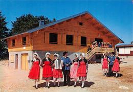 CERNIEBAUD - Groupe Folklorique Les Fiouves De Censeau à La Base De Ski De Randonnée - Accordéon - S.I.V.O.M. De Nozeroy - Otros Municipios
