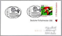 FC KAISERSLAUTERN - Campeon De La Liga Alemana De Futbol 1998 - Football. Kaiserslautern 1998 - Club Mitici