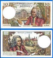 France 10 Francs 1973 Serie H 948 Du 6 12 1973 Que Prix + Port Voltaire Paypal Bitcoin OK - 10 F 1963-1973 ''Voltaire''