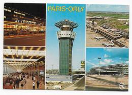 Aéroport De PARIS-ORLY  -  L'Aérogare Sud Et La Tour De Contrôle  -  Airport - Aérodromes