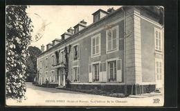 CPA Seine-Port, Chateau De La Chesnaie - Unclassified