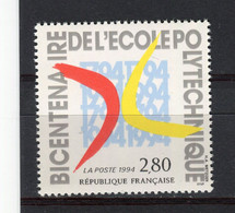FRANCE - Y&T N° 2862** - MNH - Ecole Polytechnique - France