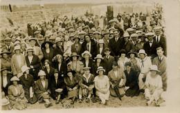 KENT - MARGATE - LARGE GROUP ON SANDS 1924 RP  Kt837 - Margate