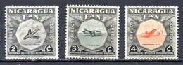 NICARAGUA. N°775-7 De 1954. Avions Militaires. - Flugzeuge