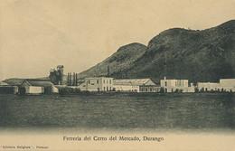 Ferreria Del Cerro Del Mercado , Durango. Metallurgie. Iron Plant - Mexico