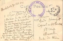 Hopital Militaire Guerre 1914 Dépot Des Convalescents De ROCHEFORT Charente Maritime - Oorlog 1914-18