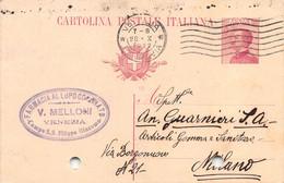 """011363 """"VENEZIA - FARMACIA AL LUPO CORONATO""""  CART COMM.LE SPED 1922 - Commercio"""