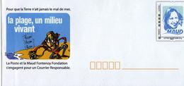 "France  - PAP ""Fondation Maud Fontenoy - Neuf** - Ganzsachen"