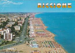 Riccione ( Rimini ) - Panorama Aereo - Viaggiata - Rimini