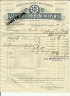 Allemagne - Markneukirchen - Facture Carl Gottlob Schusterjun - Manu. Misikinstrumenten - 1911 - Réf.46. - 1900 – 1949