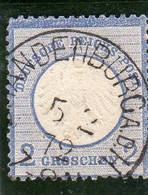 Allemagne : Empire N°5 Oblitéré Année 1872 - Oblitérés