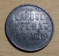 Gut Für 1/2 Liter Bier - Lansturm Infanterie Bataillon Ansbach 9 - Otros