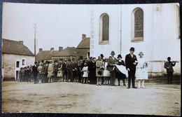 CPA Carte Photo Mariage à BLAIN 44 Devant L Eglise - Blain