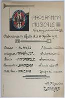 109 Fanteria Da 25 A 33 - Reggimento 32 Programma Musicale - Regiments