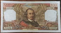 Billet De 100 Francs CORNEILLE 2 - 2 - 1978 FRANCE T.1156 - 1962-1997 ''Francs''