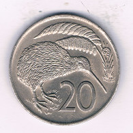 20 CENTS 1974  NIEUW ZEELAND /8562/ - Nieuw-Zeeland