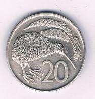 20 CENTS 1979  NIEUW ZEELAND /8563/ - Nieuw-Zeeland