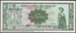 TWN - PARAGUAY 193b - 1 Guaranie L.1952 (1963) Prefix A UNC - Paraguay