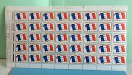 Franchise Militaire (40 Val) - 1964 - N°13 - Coté 20,00€ Y&T - Sheetlets