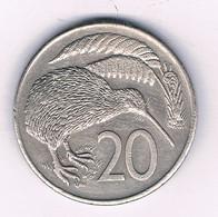 20 CENTS 1980  NIEUW ZEELAND /8564/ - Nieuw-Zeeland