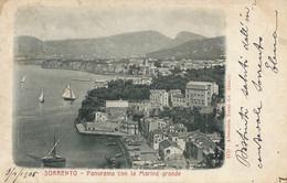 Sorrento Panorama  Alterocca Terni  Undivided Back Sent To Max Claass German Consulate - Altre Città