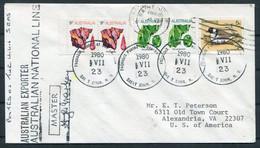"1980 Australia Signed Ship Cover ""AUSTRALIAN EXPORTER"" Paquebot Saint John, New Brunswick - Briefe U. Dokumente"