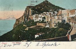 Capri Villa Behring Sent To Max Claass German Consulato Tedesco - Altre Città