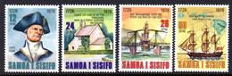 SAMOA - 1978 CAPTAIN COOK ANNIVERSARY SET (4V) FINE MNH ** SG 512-515 - Samoa