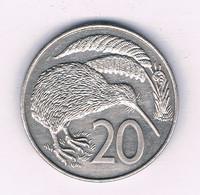 20 CENTS 1988  NIEUW ZEELAND /8567/ - Nieuw-Zeeland