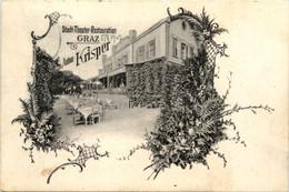 Grazl/Steiermark - Stadt-Theater-Restauration Graz - Anton Krisper - Graz